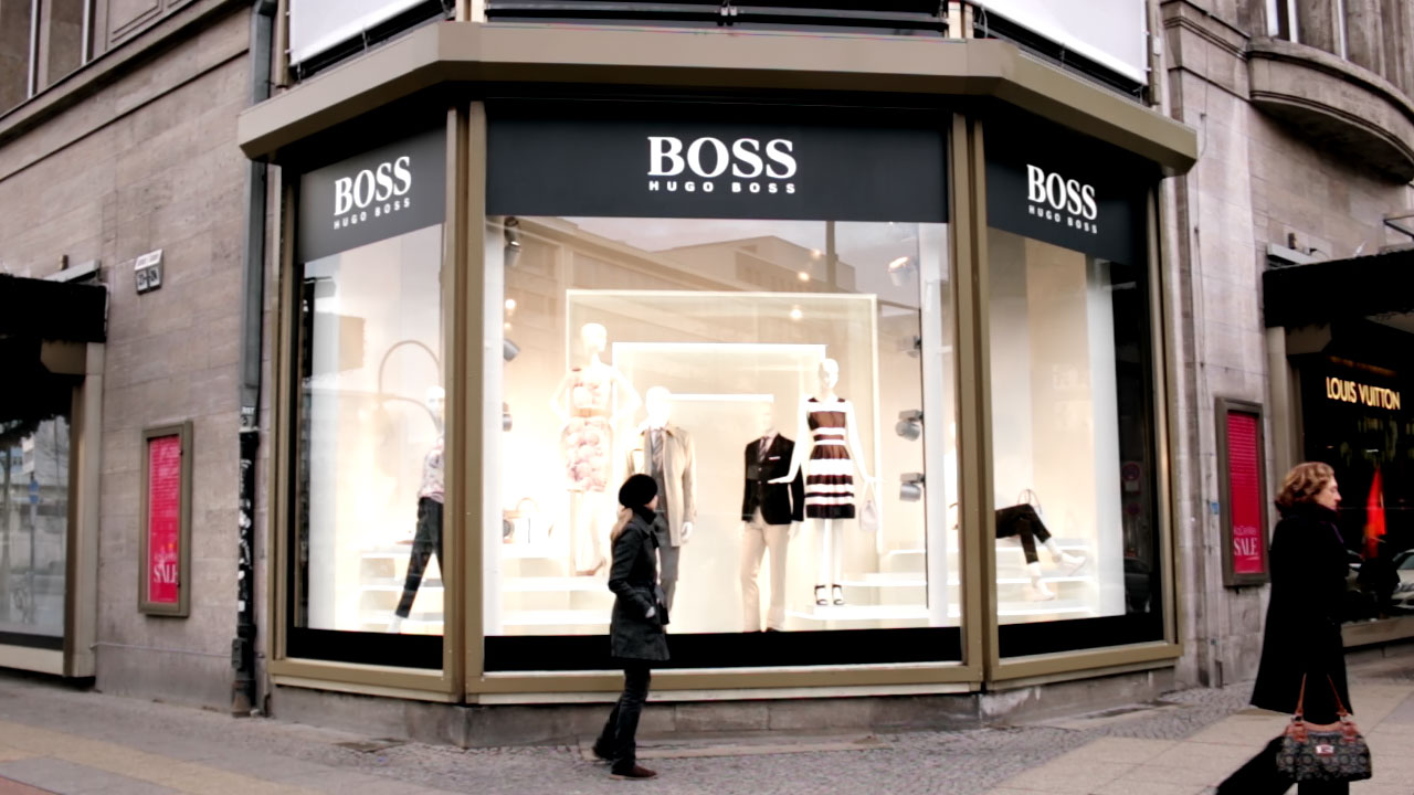 hugo boss kadewe window design pikdrei en. Black Bedroom Furniture Sets. Home Design Ideas